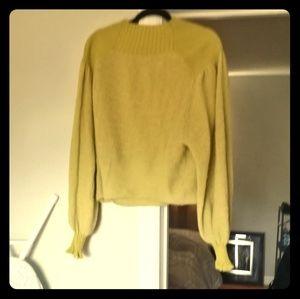 Free people mustard sweater